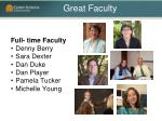 great faculty