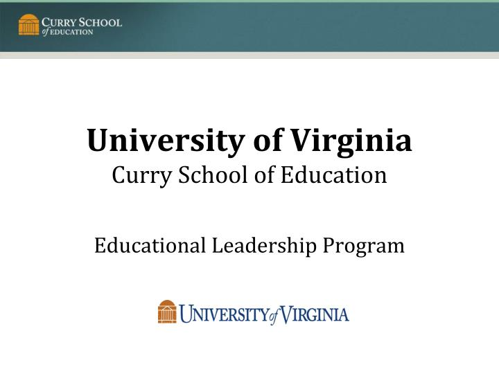 university of virginia curry school of education n.