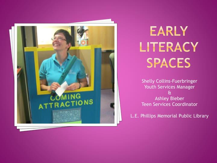 early literacy spaces n.
