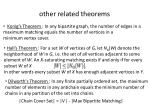 other related theorems