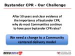 bystander cpr our challenge2