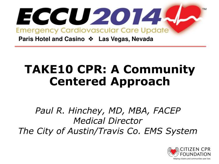 take10 cpr a community centered approach n.