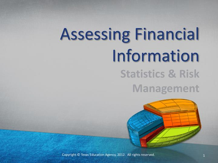 assessing financial information n.