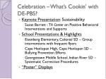 celebration what s cookin with de pbs