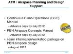 atm airspace p lanning and design s upport
