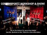 comedysportz workshop show