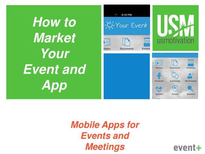 mobile apps for events and meetings n.