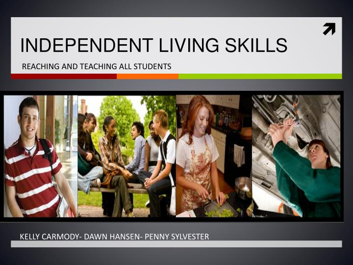 independent living skills n.