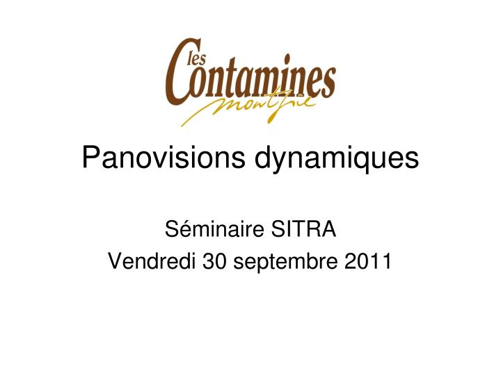 panovisions dynamiques n.