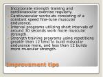 improvement tips
