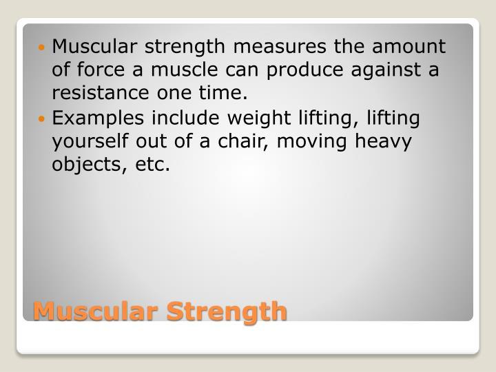 Ppt Muscular Strength Amp Endurance Powerpoint Presentation Id
