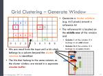 grid clustering generate window1