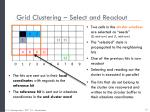 grid clustering select and readout3