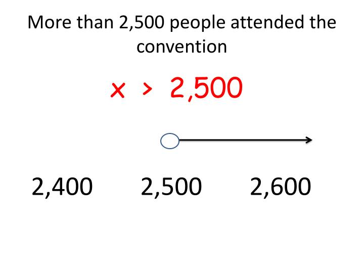 more than 2 500 people attended the convention n.