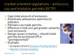 market oriented regulations emissions cap and tradable permits ectp