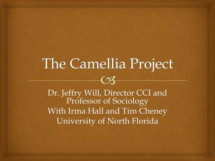 the camellia project n.