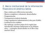 2 marco institucional de la informaci n financiera en am rica latina