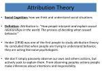 attribution theory1
