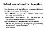 refacciones y control de dispositivos