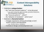 content interoperability solutions