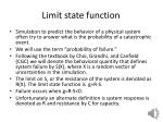 limit state function