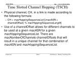 time slotted channel hopping tsch