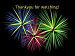 thankyou for watching