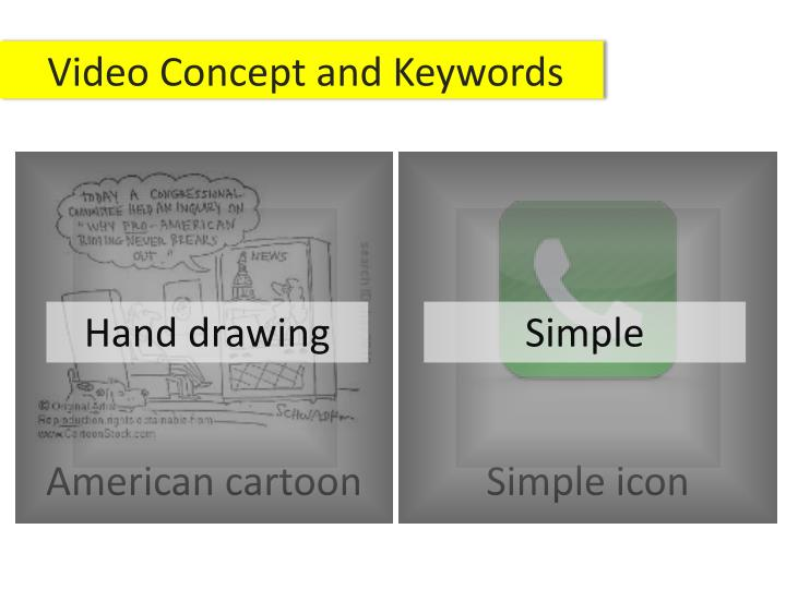 Video Concept and Keywords
