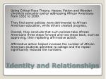 identity and relationships1