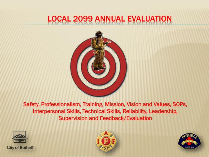 local 2099 annual evaluation n.