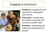 engaging in economics