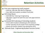 retention activities
