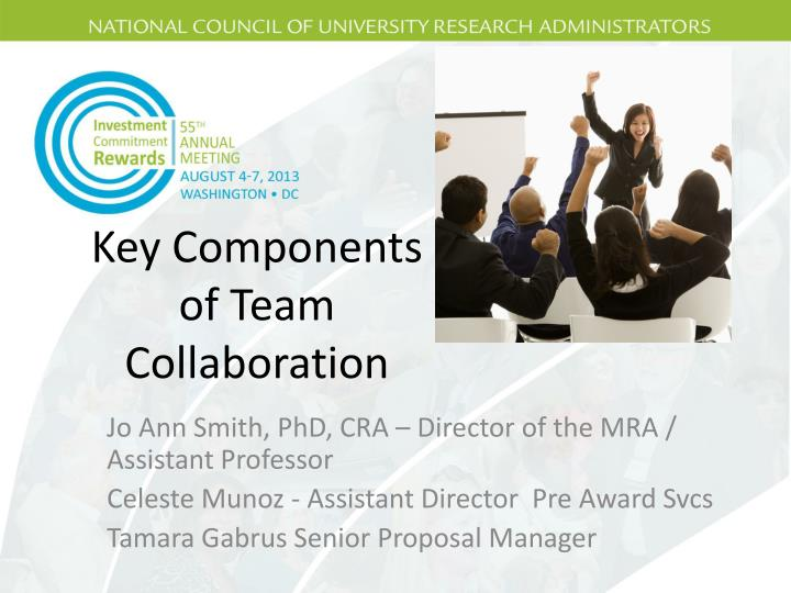 key components of team collaboration n.