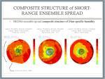 composite structure of short range ensemble spread1