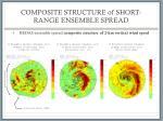 composite structure of short range ensemble spread3