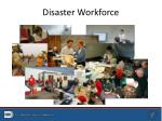 disaster workforce