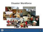 disaster workforce