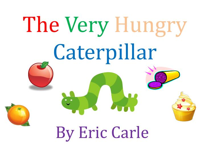 the very hungry caterpillar n.