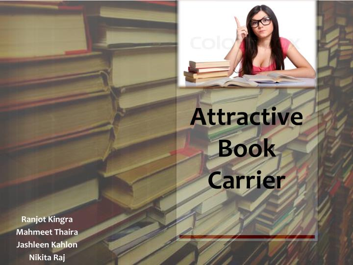 attractive book carrier n.