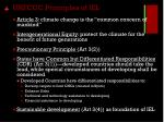 unfccc principles of iel