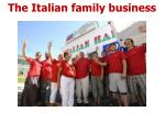 the italian family business