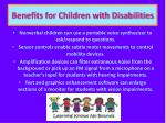 benefits for children with disabilities