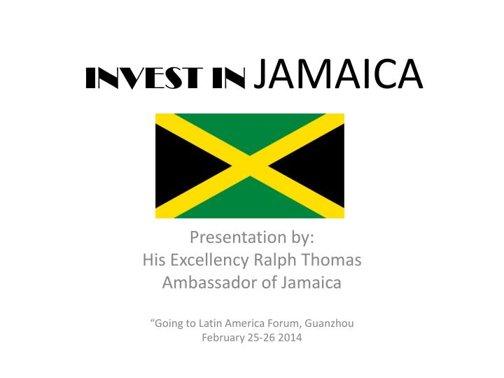 invest in jamaica n.