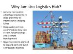 why jamaica logistics hub