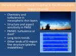 dynamical and chemical coupling in the mesosphere topics covered