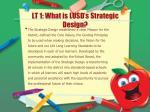 lt 1 what is lusd s strategic design
