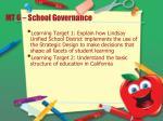 mt 6 school governance