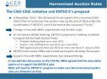 the cao casc initiative and entso e s proposal