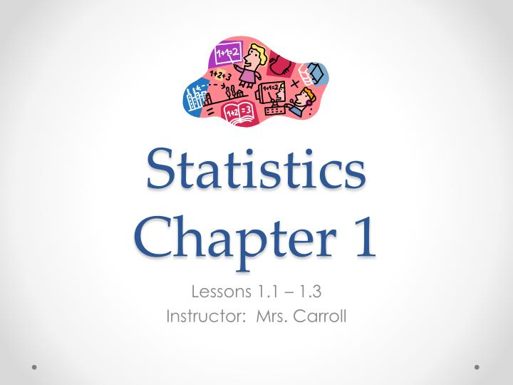 statistics chapter 1 n.
