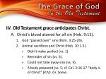 the grace of god in the old testamen t2